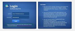 Lembar Informasi PTK Dikdas untuk tahun 2014